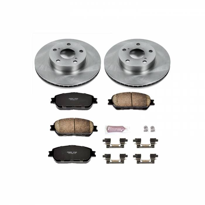 Power Stop - Autospecialty By Power Stop 1-Click Daily Driver Brake Kits   Power Stop (KOE5431)