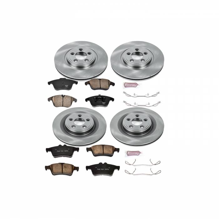 Power Stop - Autospecialty By Power Stop 1-Click Daily Driver Brake Kits | Power Stop (KOE5637)