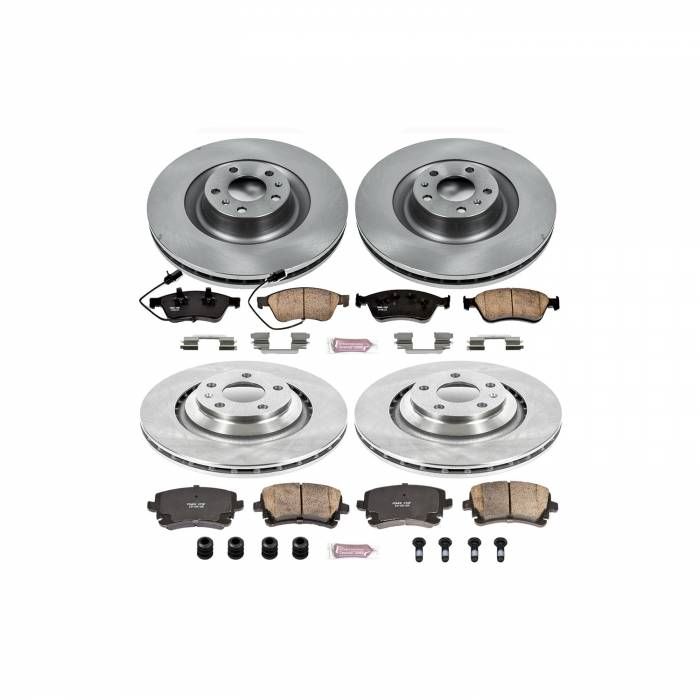 Power Stop - Autospecialty By Power Stop 1-Click Daily Driver Brake Kits   Power Stop (KOE5746)