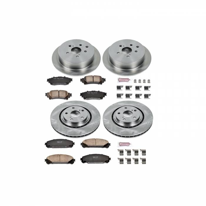 Power Stop - Autospecialty By Power Stop 1-Click Daily Driver Brake Kits | Power Stop (KOE5828)