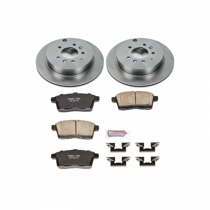 Power Stop - Autospecialty By Power Stop 1-Click Daily Driver Brake Kits | Power Stop (KOE5876)