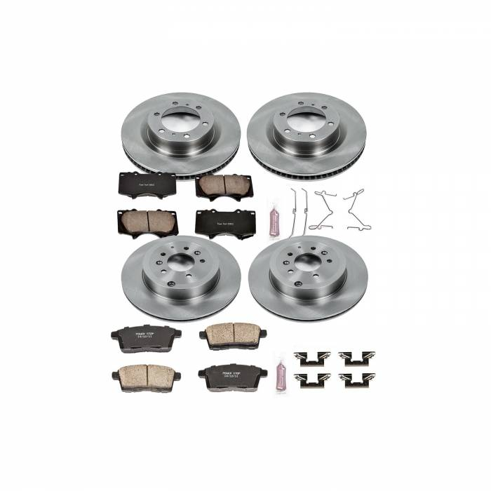 Power Stop - Autospecialty By Power Stop 1-Click Daily Driver Brake Kits | Power Stop (KOE5879)