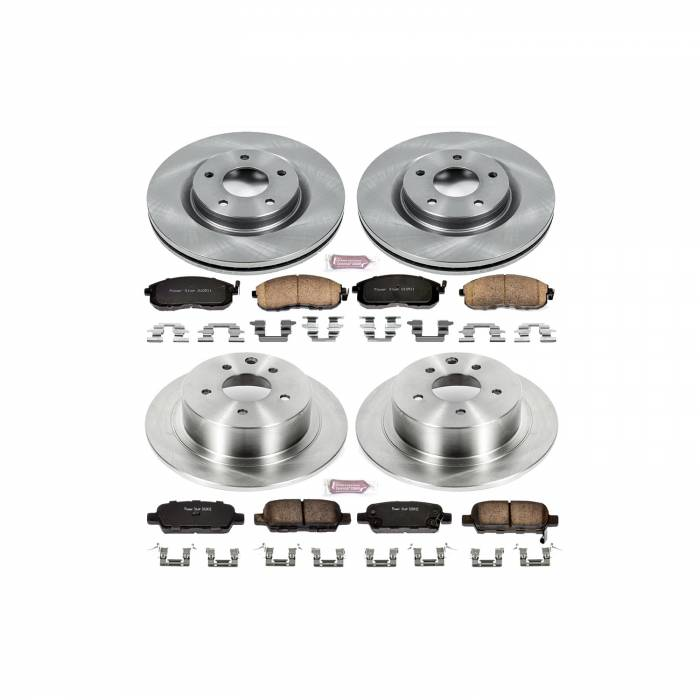 Power Stop - Autospecialty By Power Stop 1-Click Daily Driver Brake Kits | Power Stop (KOE6095)