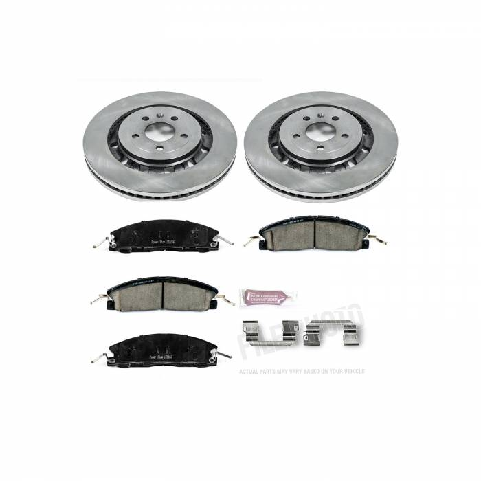 Power Stop - Autospecialty By Power Stop 1-Click Daily Driver Brake Kits | Power Stop (KOE6374)