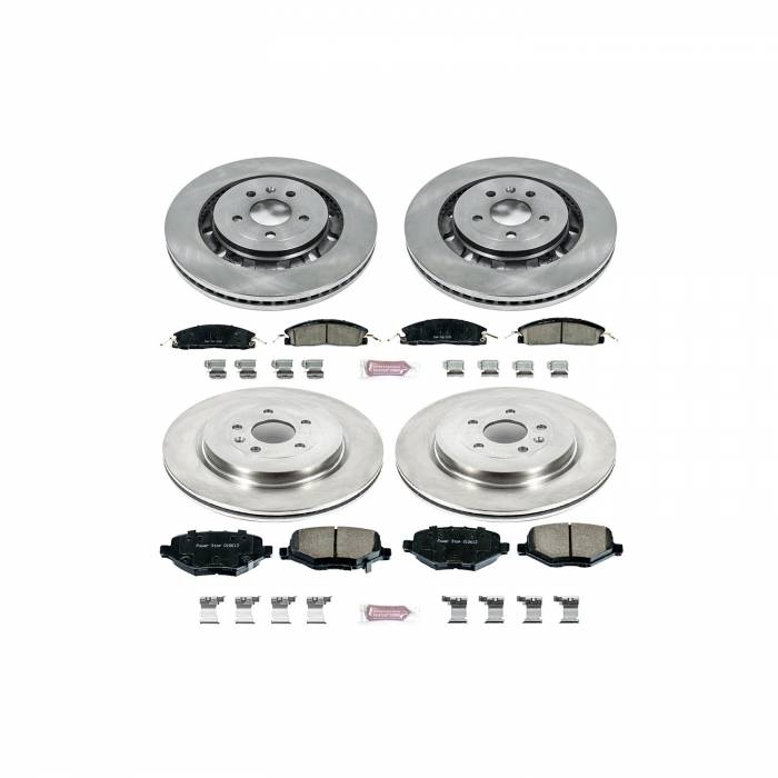 Power Stop - Autospecialty By Power Stop 1-Click Daily Driver Brake Kits   Power Stop (KOE6375)