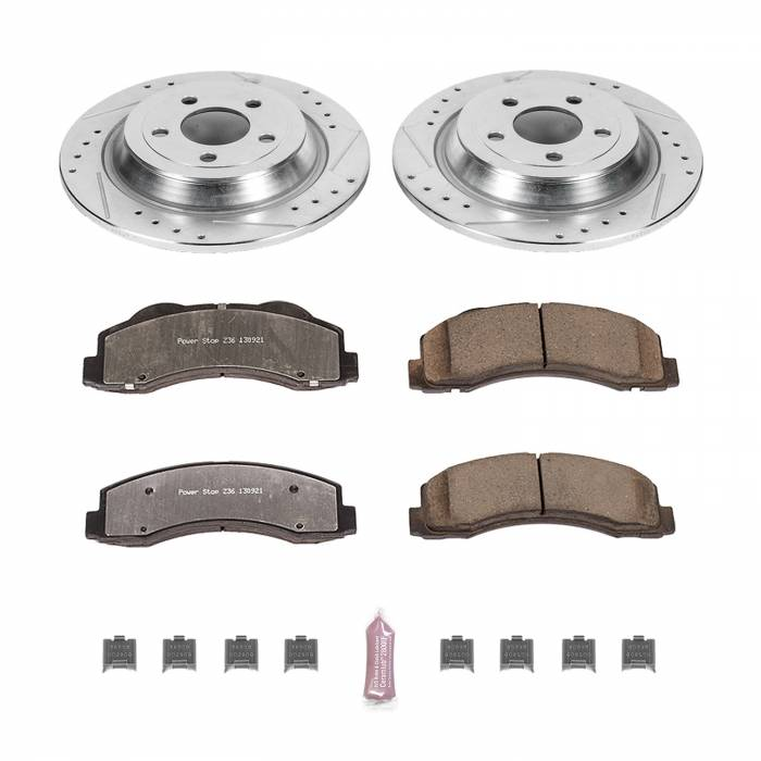 Power Stop - Z36 Severe-Duty Truck And Tow 1-Click Brake Kit | Power Stop (K6814-36)