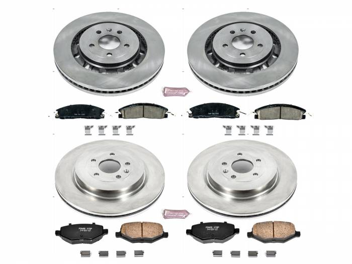Power Stop - Autospecialty By Power Stop 1-Click Daily Driver Brake Kits | Power Stop (KOE7573)