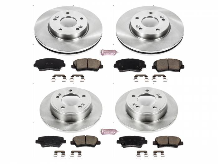 Power Stop - Autospecialty By Power Stop 1-Click Daily Driver Brake Kits | Power Stop (KOE7582)