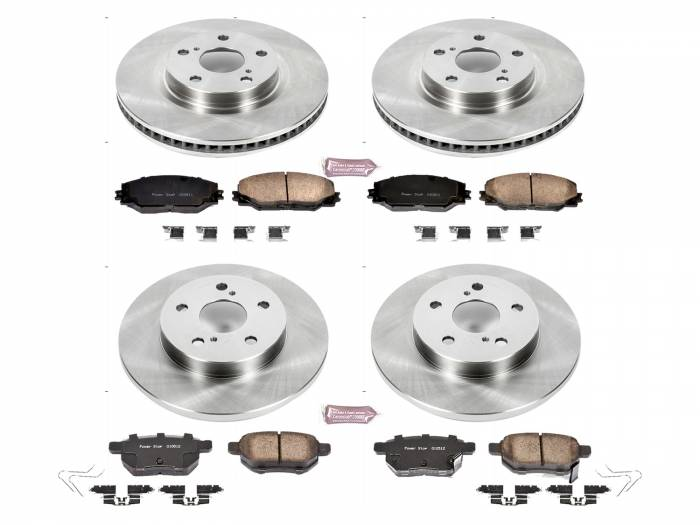 Power Stop - Autospecialty By Power Stop 1-Click Daily Driver Brake Kits | Power Stop (KOE7631)