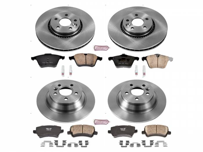 Power Stop - Autospecialty By Power Stop 1-Click Daily Driver Brake Kits | Power Stop (KOE7639)