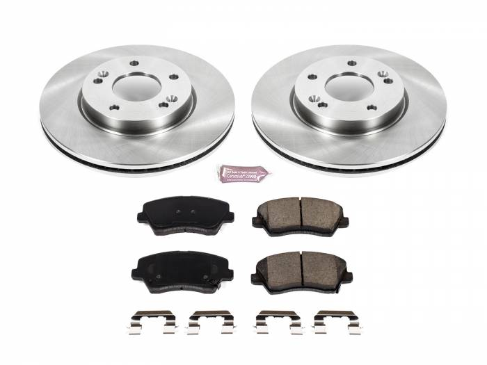 Power Stop - Autospecialty By Power Stop 1-Click Daily Driver Brake Kits | Power Stop (KOE7672)
