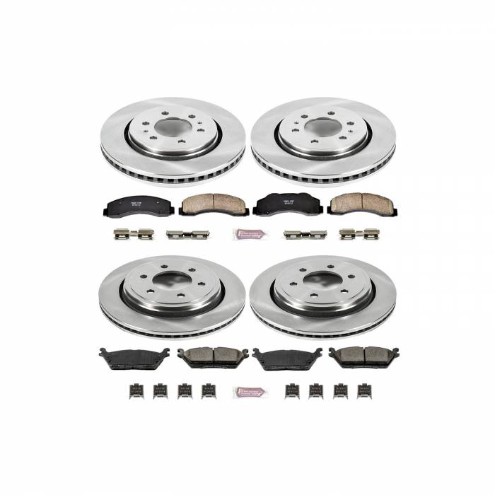 Power Stop - Autospecialty By Power Stop 1-Click Daily Driver Brake Kits | Power Stop (KOE6803)