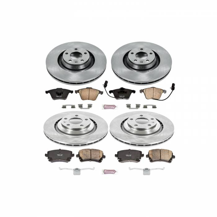 Power Stop - Autospecialty By Power Stop 1-Click Daily Driver Brake Kits | Power Stop (KOE4013)