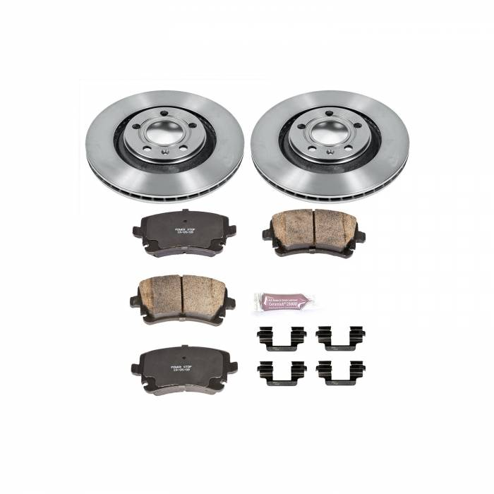 Power Stop - Autospecialty By Power Stop 1-Click Daily Driver Brake Kits   Power Stop (KOE4564)