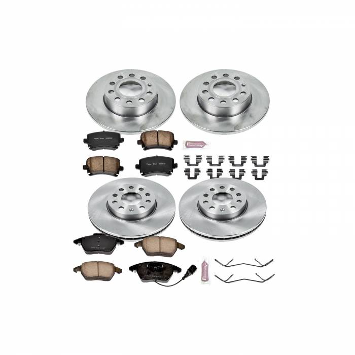 Power Stop - Autospecialty By Power Stop 1-Click Daily Driver Brake Kits   Power Stop (KOE4068)