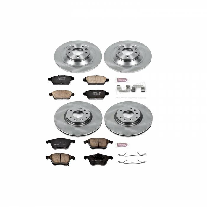 Power Stop - Autospecialty By Power Stop 1-Click Daily Driver Brake Kits | Power Stop (KOE4092)