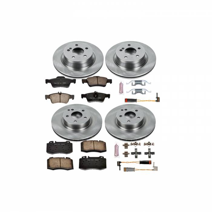 Power Stop - Autospecialty By Power Stop 1-Click Daily Driver Brake Kits | Power Stop (KOE4521)