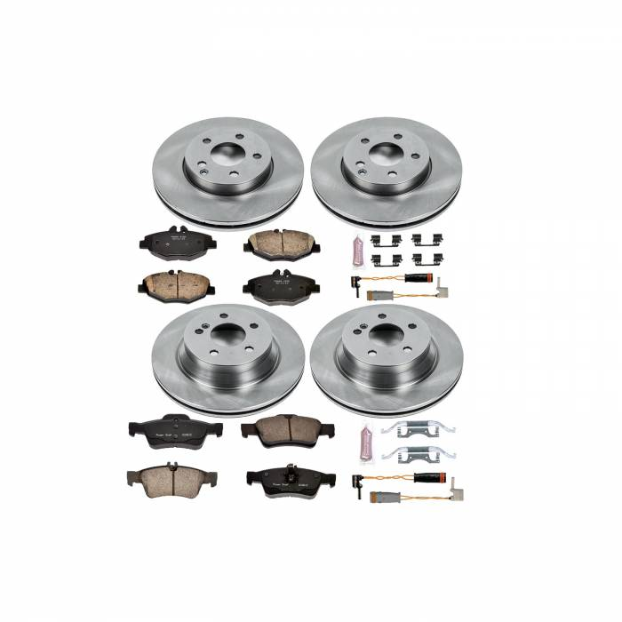 Power Stop - Autospecialty By Power Stop 1-Click Daily Driver Brake Kits   Power Stop (KOE4526)