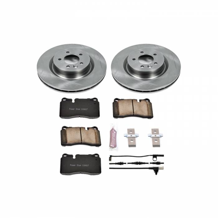 Power Stop - Autospecialty By Power Stop 1-Click Daily Driver Brake Kits | Power Stop (KOE5422)