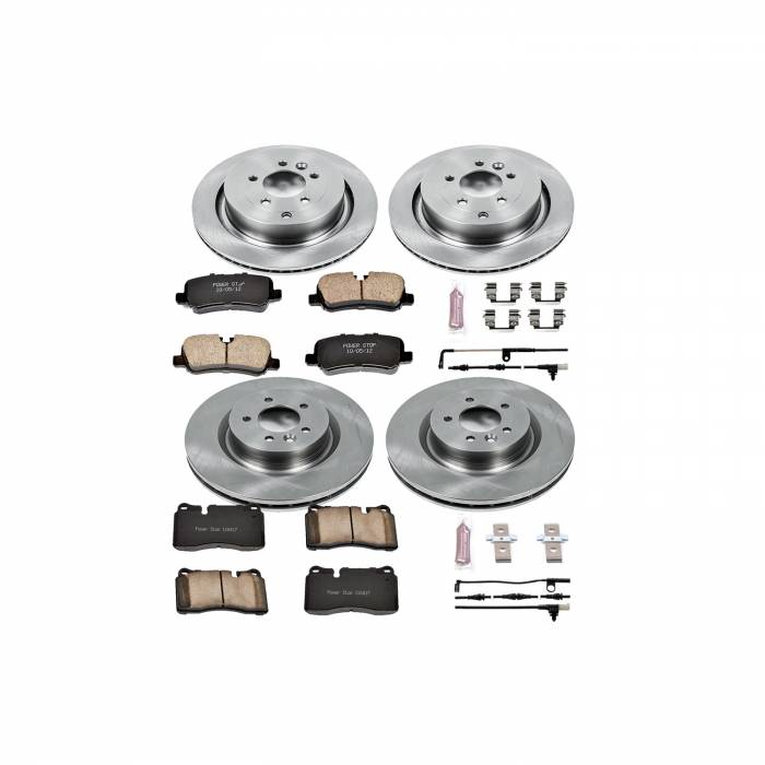 Power Stop - Autospecialty By Power Stop 1-Click Daily Driver Brake Kits | Power Stop (KOE5443)