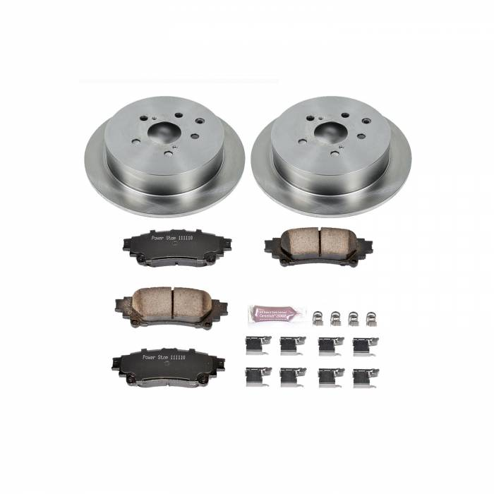Power Stop - Autospecialty By Power Stop 1-Click Daily Driver Brake Kits | Power Stop (KOE5864)