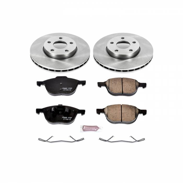 Power Stop - Autospecialty By Power Stop 1-Click Daily Driver Brake Kits | Power Stop (KOE5976)