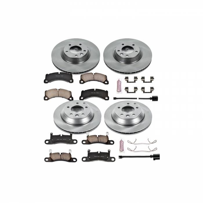 Power Stop - Autospecialty By Power Stop 1-Click Daily Driver Brake Kits | Power Stop (KOE6050)