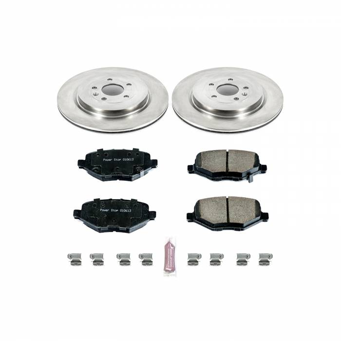 Power Stop - Autospecialty By Power Stop 1-Click Daily Driver Brake Kits | Power Stop (KOE6376)