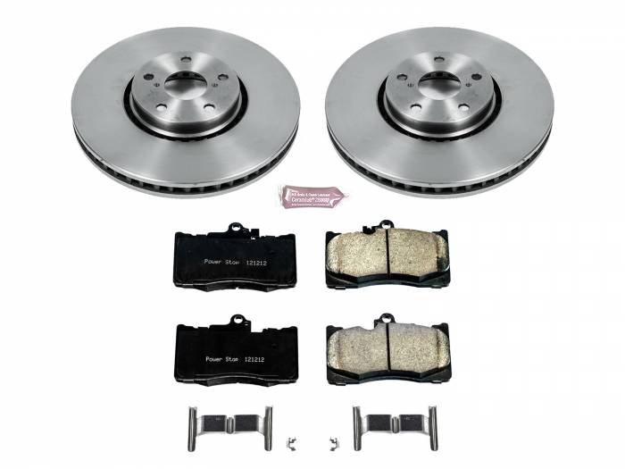 Power Stop - Autospecialty By Power Stop 1-Click Daily Driver Brake Kits | Power Stop (KOE7687)