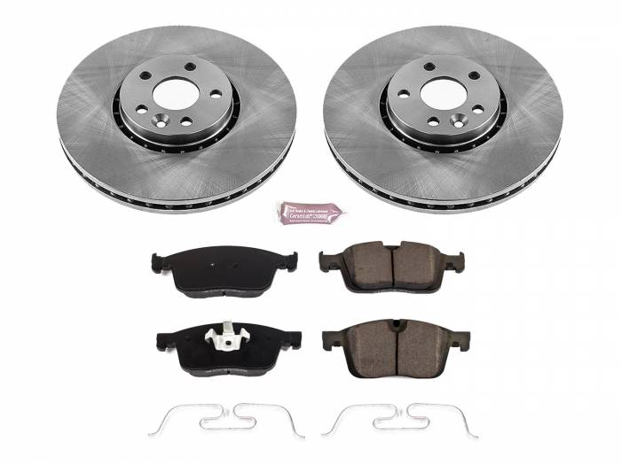 Power Stop - Autospecialty By Power Stop 1-Click Daily Driver Brake Kits | Power Stop (KOE7705)