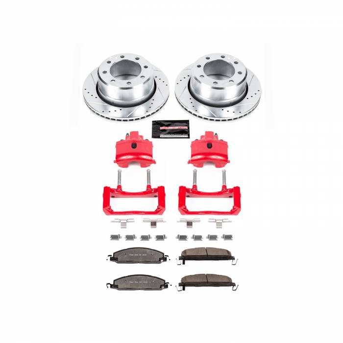 Power Stop - Z36 Extreme Performance Truck And Tow 1-Click Brake Kit w/Calipers | Power Stop (KC5487B-36)