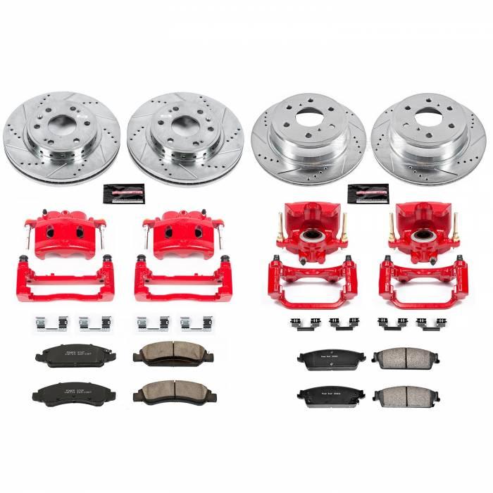 Power Stop - Z23 Evolution Sport Performance 1-Click Brake Kit w/Calipers | Power Stop (KC5520)