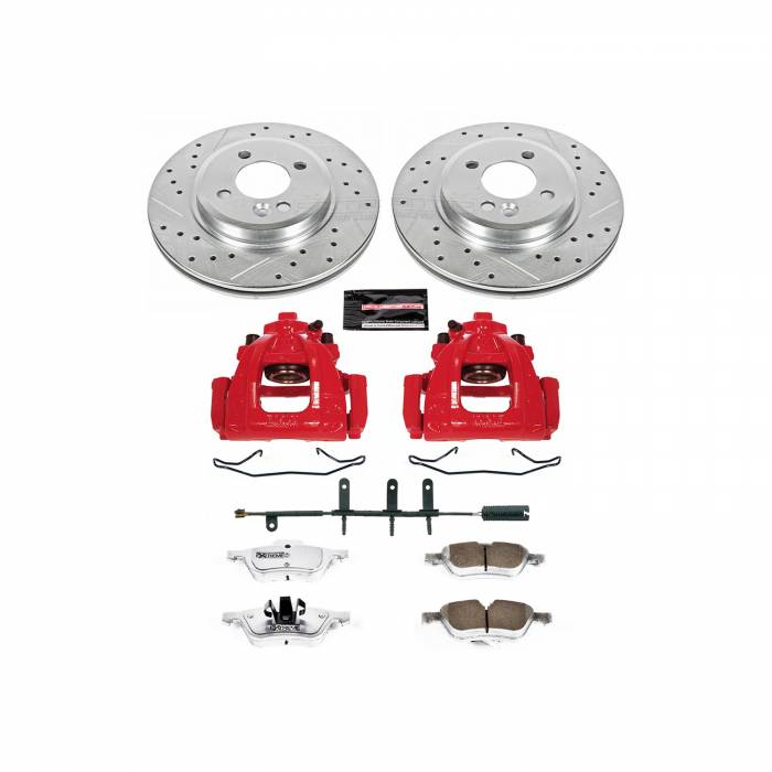 Power Stop - Z26 Extreme Street Warrior 1-Click Brake Kit w/Calipers | Power Stop (KC5724-26)
