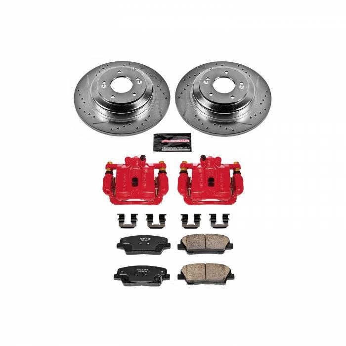 Power Stop - Z23 Evolution Sport Performance 1-Click Brake Kit w/Calipers | Power Stop (KC6168)