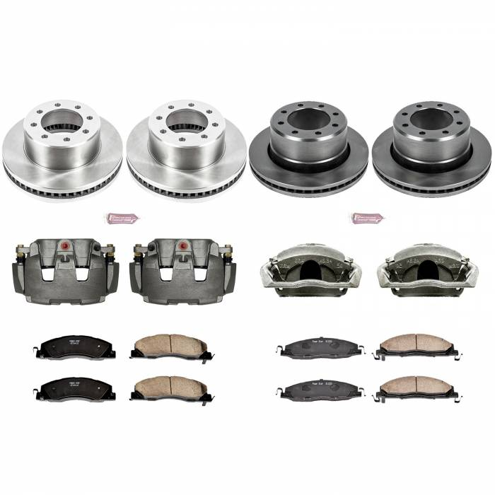 Power Stop - Autospecialty By Power Stop 1-Click OE Replacement Brake Kit w/Calipers | Power Stop (KCOE5458B)