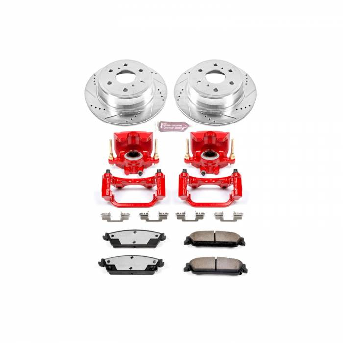 Power Stop - Z36 Extreme Performance Truck And Tow 1-Click Brake Kit w/Calipers | Power Stop (KC2083-36)
