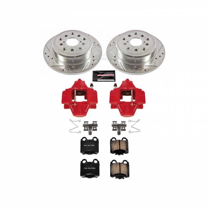 Power Stop - Z23 Evolution Sport Performance 1-Click Brake Kit w/Calipers | Power Stop (KC1149)