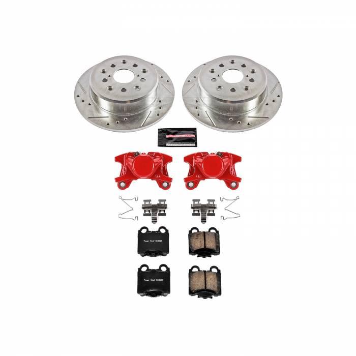 Power Stop - Z23 Evolution Sport Performance 1-Click Brake Kit w/Calipers | Power Stop (KC1149A)