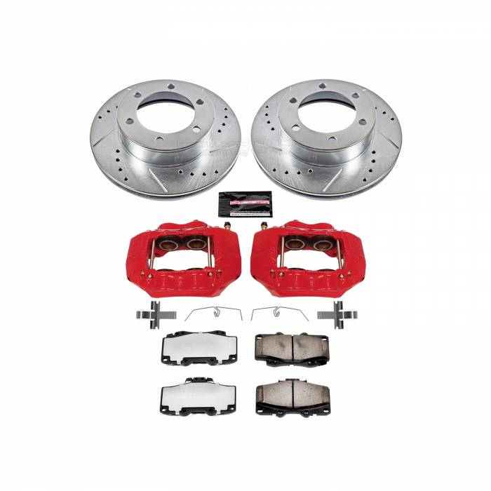 Power Stop - Z36 Extreme Performance Truck And Tow 1-Click Brake Kit w/Calipers | Power Stop (KC1233A-36)