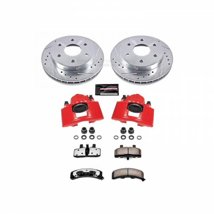 Power Stop - Z36 Extreme Performance Truck And Tow 1-Click Brake Kit w/Calipers   Power Stop (KC1970A-36)