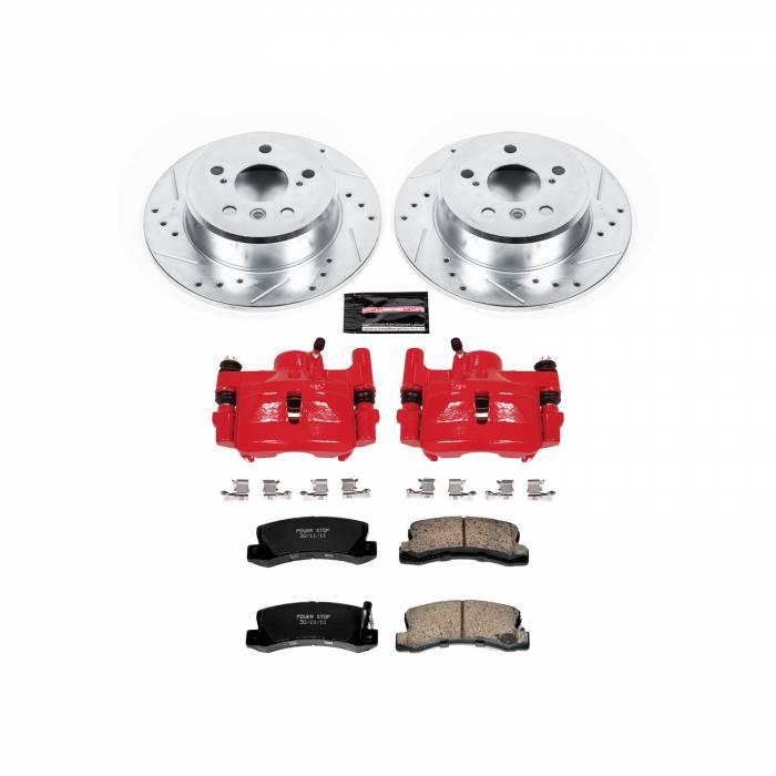 Power Stop - Z23 Evolution Sport Performance 1-Click Brake Kit w/Calipers | Power Stop (KC2564)