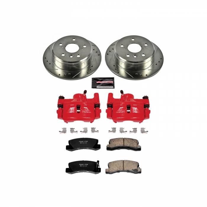 Power Stop - Z23 Evolution Sport Performance 1-Click Brake Kit w/Calipers   Power Stop (KC2565)