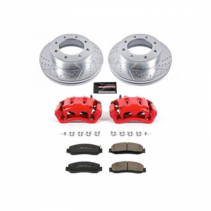 Power Stop - Z23 Evolution Sport Performance 1-Click Brake Kit w/Calipers | Power Stop (KC5412A)