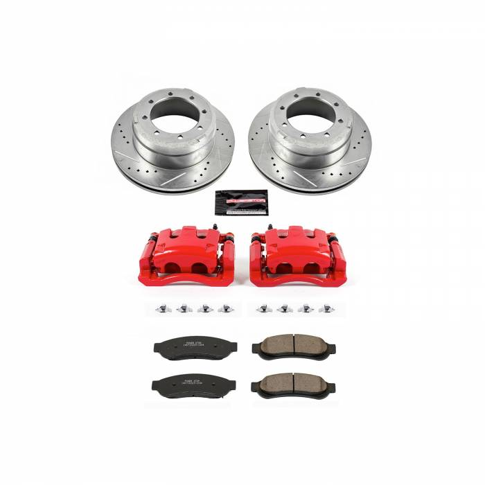 Power Stop - Z23 Evolution Sport Performance 1-Click Brake Kit w/Calipers | Power Stop (KC5579)