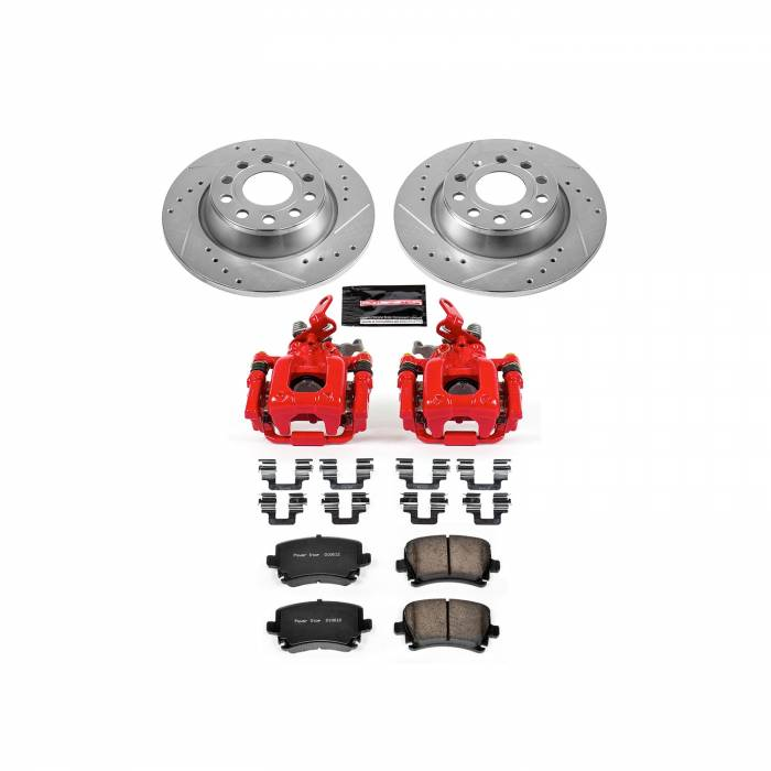 Power Stop - Z23 Evolution Sport Performance 1-Click Brake Kit w/Calipers | Power Stop (KC5662C)