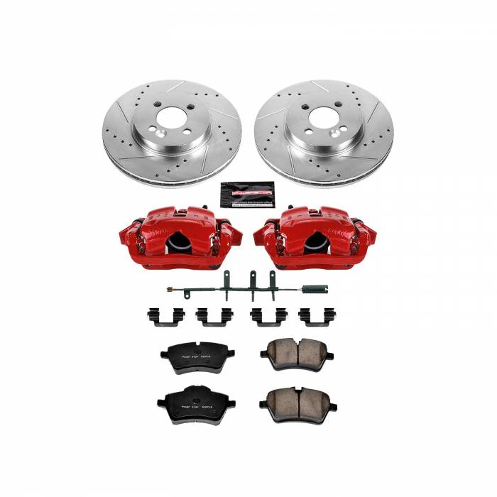 Power Stop - Z23 Evolution Sport Performance 1-Click Brake Kit w/Calipers | Power Stop (KC5784)
