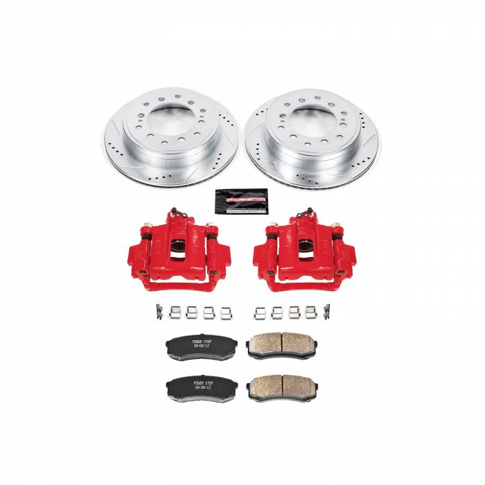 Power Stop - Z23 Evolution Sport Performance 1-Click Brake Kit w/Calipers | Power Stop (KC5875A)