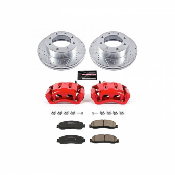Power Stop - Z23 Evolution Sport Performance 1-Click Brake Kit w/Calipers | Power Stop (KC6545A)