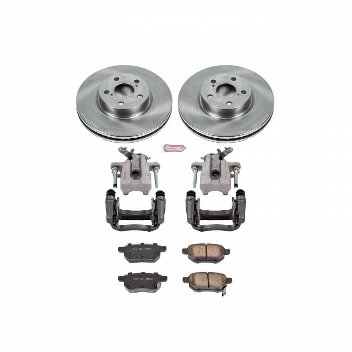 Power Stop - Autospecialty By Power Stop 1-Click OE Replacement Brake Kit w/Calipers   Power Stop (KCOE7380)