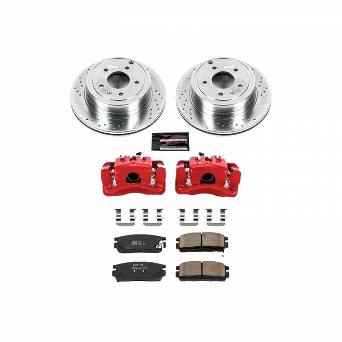 Power Stop - Z23 Evolution Sport Performance 1-Click Brake Kit w/Calipers   Power Stop (KC2092)